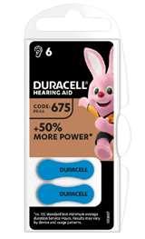 Duracell (1 Confezione) Duracell ActiveAir Batterie 6pz Acustiche Medical DA675