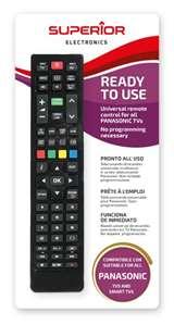 Superior Electronics Superior Telecomando Universale Panasonic funzioni Smart TV SM