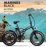 Icon.e Icon.e Bici Elettrica Pieghevole E-Road 250W Marines Black