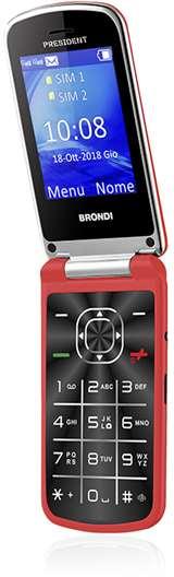 Brondi Brondi President Rosso DS ITA
