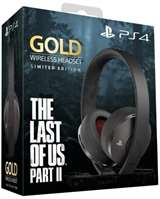 Sony Computer Ent. PS4 Gold Wireless Headset The Last of Us Part 2