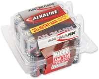 Ansmann Ansmann Batterie MiniStilo AAA/1.5V Alcaline 20pz