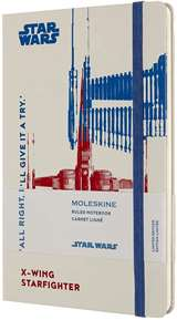 Moleskine Moleskine Taccuino Cop. Rigida Star Wars X-Wing 13x21cm Bianco