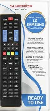Superior Electronics Superior Telecomando Universale Smart TV - LG e Samsung