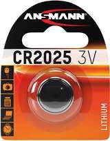 Ansmann Ansmann Batteria a bottone CR2025/3V Lithium
