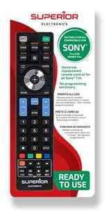 Superior Electronics Superior Telecomando Universale Sony funzioni Smart TV SH