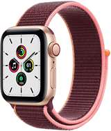 Apple Apple Watch SE GPS+Cell 40mm Gold Aluminium Case/Plum Sport Loop ITA MYEJ2TY/A