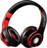All Star All Star Cuffie Bluetooth ASH-08GKX Nero-Rosso