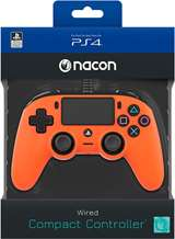 Nacon PS4 Nacon Wired Compact Controller Color Edition - Orange