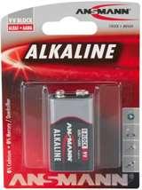 Ansmann Ansmann Batteria Transistor E/6LR61/9V Alcalina 1pz