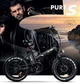 Icon.e Icon.e Bici Elettrica Pieghevole E-Road Plus 250W Pure Black S