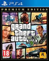 Take Two Interactive PS4 GTA Grand Theft Auto 5 - Premium Edition EU