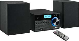 Majestic Majestic Micro Hi-Fi AH-2350 BT/MP3/USB/DAB+ Black