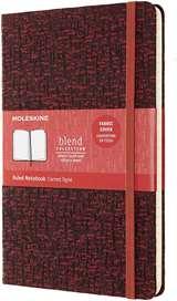 Moleskine Moleskine Taccuino Blend C.Cop. Rigida Tessuto 13x21cm Rosso