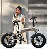 Icon.e Icon.e Bici Elettrica Pieghevole iCross-X7 250W Titanium
