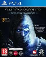 Warner Bros PS4 La Terra di Mezzo: L'Ombra di Mordor GOTY