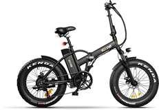 Icon.e Icon.e Bici Elettrica Pieghevole AllRoad Plus 250W Pure Black S