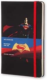 Moleskine Moleskine Taccuino Batman VS Superman Ed. Superman Large Nero