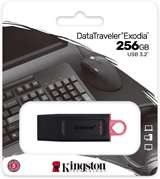Kingston Kingston Pendrive USB-A 3.2 256GB DTX/256GB Nero/Rosa