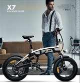 Icon.e Icon.e Bici Elettrica Pieghevole iCross-X7 250W Blackened Silver