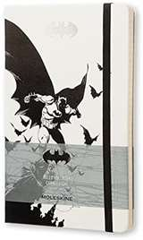 Moleskine Moleskine Taccuino Batman Cop. Rigida 13x21cm Bianco/Nero