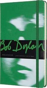 Moleskine Moleskine Taccuino Bob Dylan Cop. Rigida 13x21cm Verde