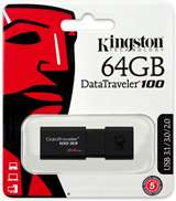 Kingston Kingston Pendrive USB-A 3.0 64GB DT100G3/64GB