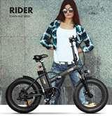 The ONE The ONE Bici Elettrica Rider 250W Black