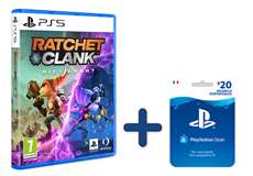 Sony Computer Ent. PS5 Ratchet & Clank: Rift Apart + Ricarica Hang 20€