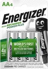 Energizer Energizer Batterie Stilo Ricaricabili 2000 mAh EN0065 4pz