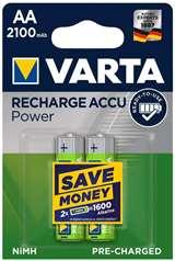 Varta Varta Batterie Stilo Ricaricabili 2100 mAh 2pz