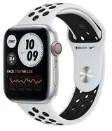 Apple Apple Watch Nike Serie6 GPS+Cell 44mm Silver Alum./P.Plat./Blk Sp.B.