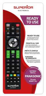 Superior Electronics Superior Telecomando Universale per Smart TV Panasonic V2