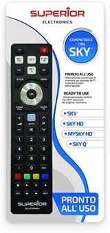Superior Electronics Superior Telecomando Universale SKY / SKY HD / MYSKY HD / SKY Q SH