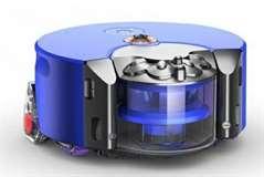 Dyson Dyson Robot Aspirapolvere 360 heurist 0,33L senza sacchetto Blu/nich
