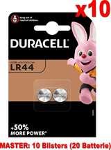Duracell Duracell Specialistiche Batterie Bottone LR44 76A/A76/V13GA 20pz