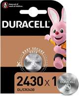 Duracell (1 Confezione) Duracell Lithium Batterie 1pz Bottone DL/CR2430