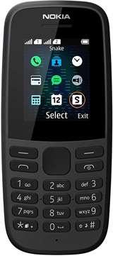 Nokia Nokia 105 Black 2019 DS ITA