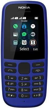 Nokia Nokia 105 Blue 2019 DS ITA