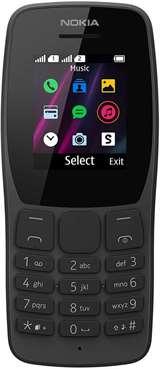 Nokia Nokia 110 Black DS ITA