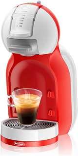 DeLonghi DeLonghi Mini Me Macchina da Caffè Nescafè Dolce Gusto EDG305 Bianco/Rosso