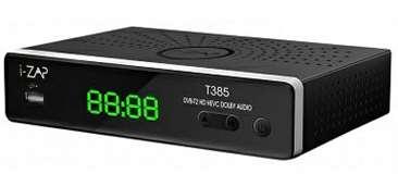 I-ZAP I-Zap Decoder T385 Play DVBT2 HEVC 10 BIT HD/USB