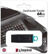 Kingston Kingston Pendrive USB 3.2 64GB DTX/64GB Nero/Celeste