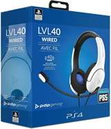 PDP PS5 PDP LVL40 Stereo Headset PS4/PS5 White