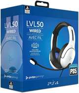 PDP PS5 PDP LVL50 Wired HeadsetWhite