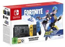 Nintendo Switch Console 1.1 Blu/Giallo Special Edition + Fortnite