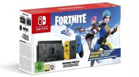 Nintendo Switch Console 1.1 Blue/Yellow Special Edition + Fortnite EU