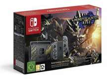 Nintendo Switch Console 1.1 Monster Hunter Rise Special Edition + M.H.Rise
