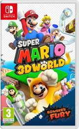 Nintendo Switch Mario 3D Worlds + Bowser's Fury
