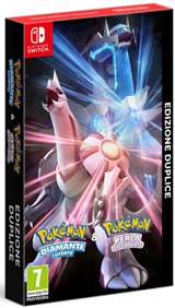Nintendo Switch Pokemon Diamante Lucente e Perla Splendente Dual Pack